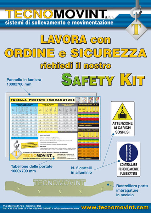 Pannello Safety Kit